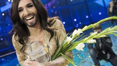 Conchita Wurst, emblematică pentru Eurovision