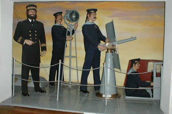macheta Muzeul Marinei Române (foto: agrepres.ro)