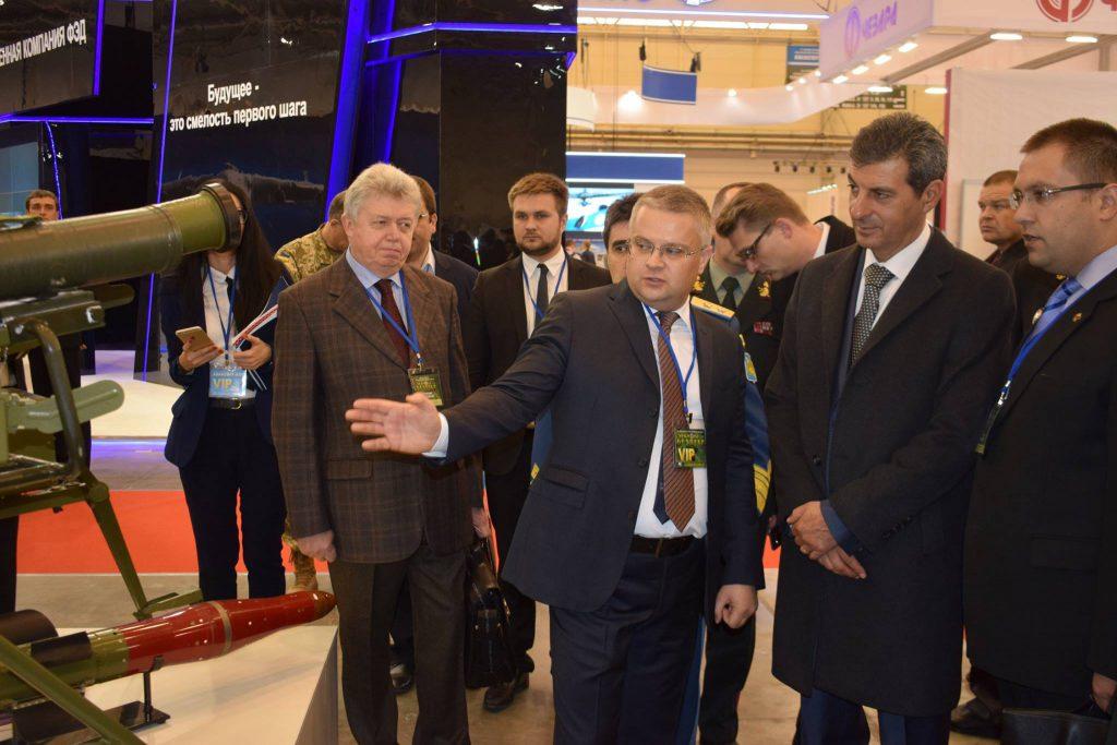 Vizita ministrului Apărării în Ucraina. Foto: MAPN.